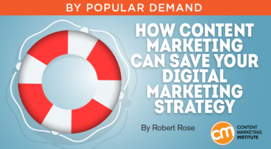 How Content Marketing Can Save Your Digital Marketing Strategy