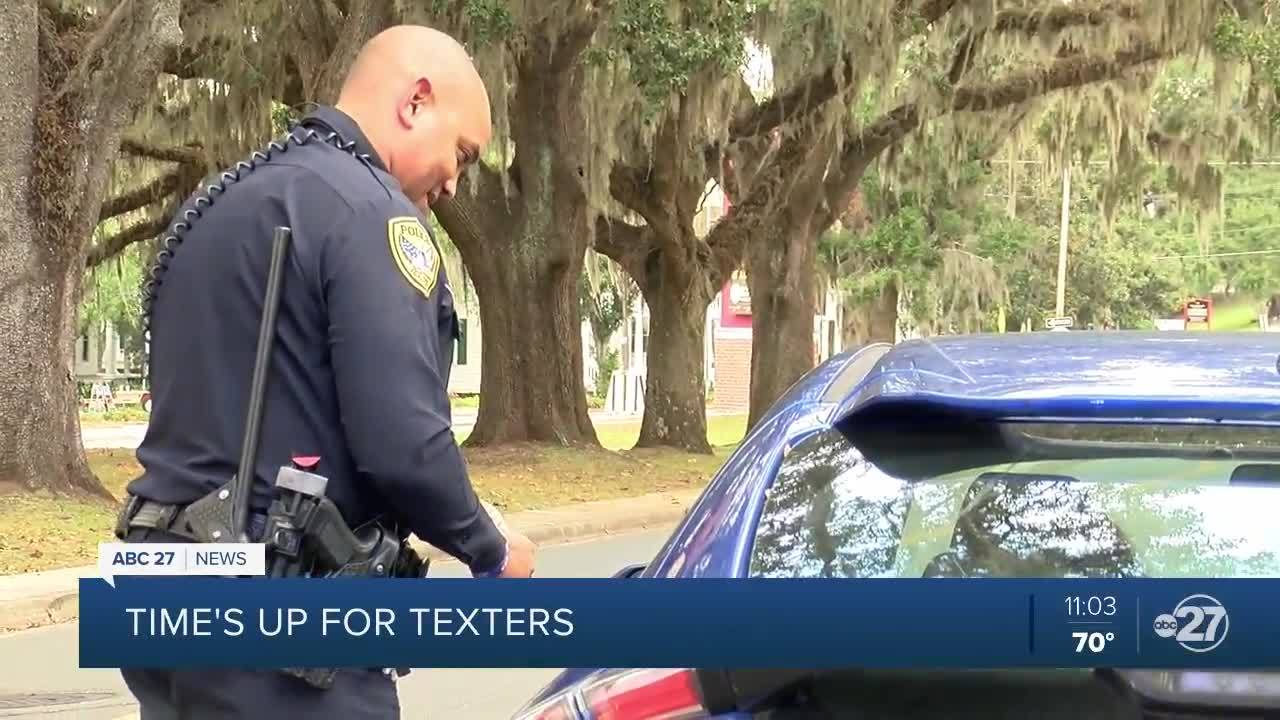 ABC 27 rides along with TPD as they enforce new texting and driving laws