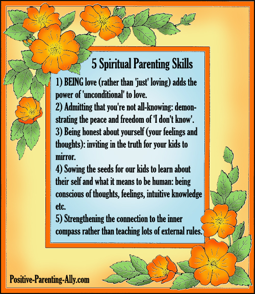 Spiritual Parenting: Being Love & Guiding Kids to Their Own Truth