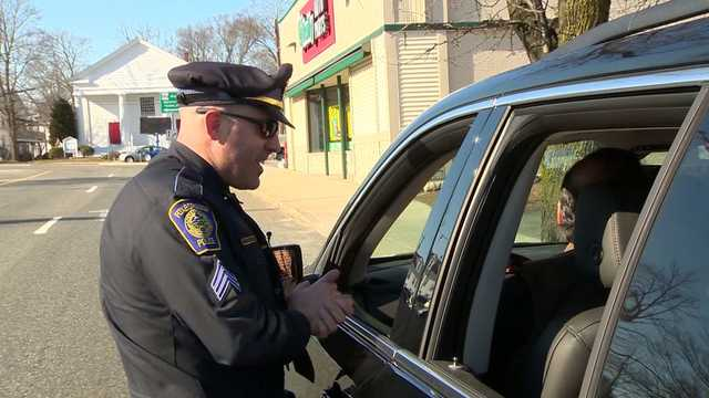 Police on look out for drivers on phone; hands-free law in effect