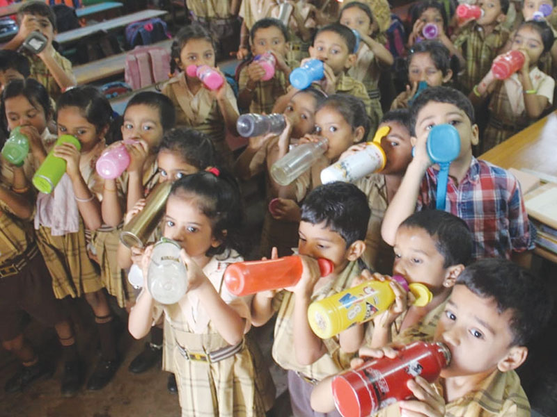 Encourage children to drink more water - EducationWorld Health & Nutrition