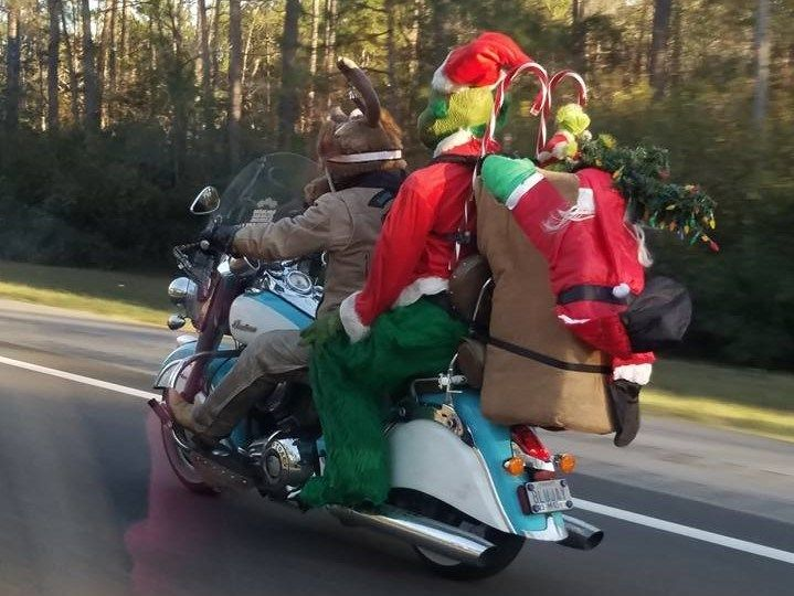 A coast man known for his biker buddy 'The Grinch' has passed away