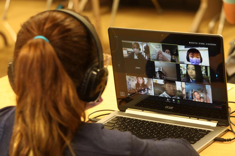 Distance learning stokes fears of excessive screen time