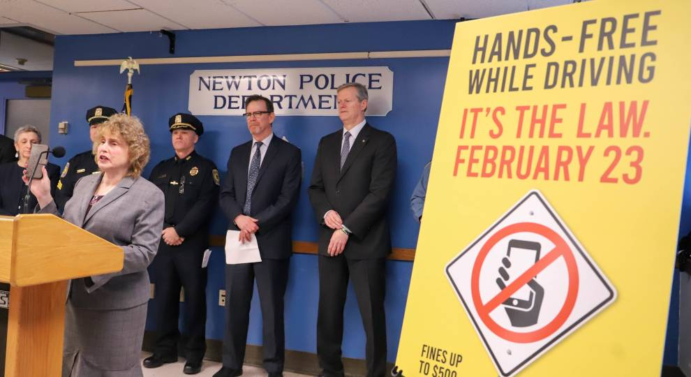 State Police Stepping Up Patrols As Distracted Driving Law Takes Effect