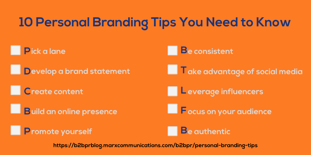 Personal Branding Tips: How to Ensure Success for 2021