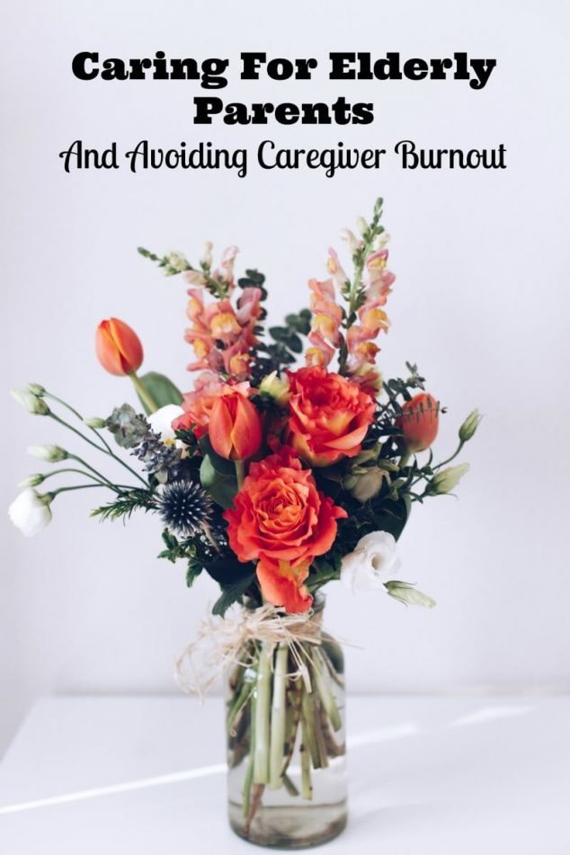 Caring For Elderly Parents And Avoiding Caregiver Burnout