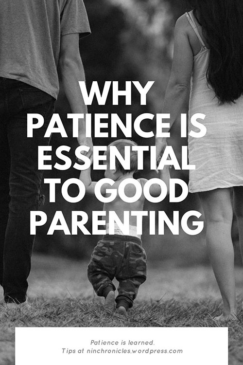 Why patience is important to good parenting