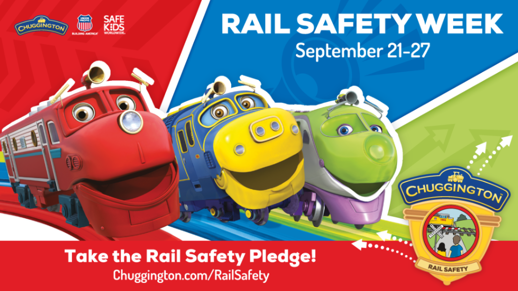 Popular Animated Characters Make Rail Safety 'Traintastic'