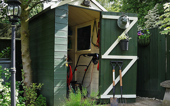 5 simple cheap ways to transform your garden shed