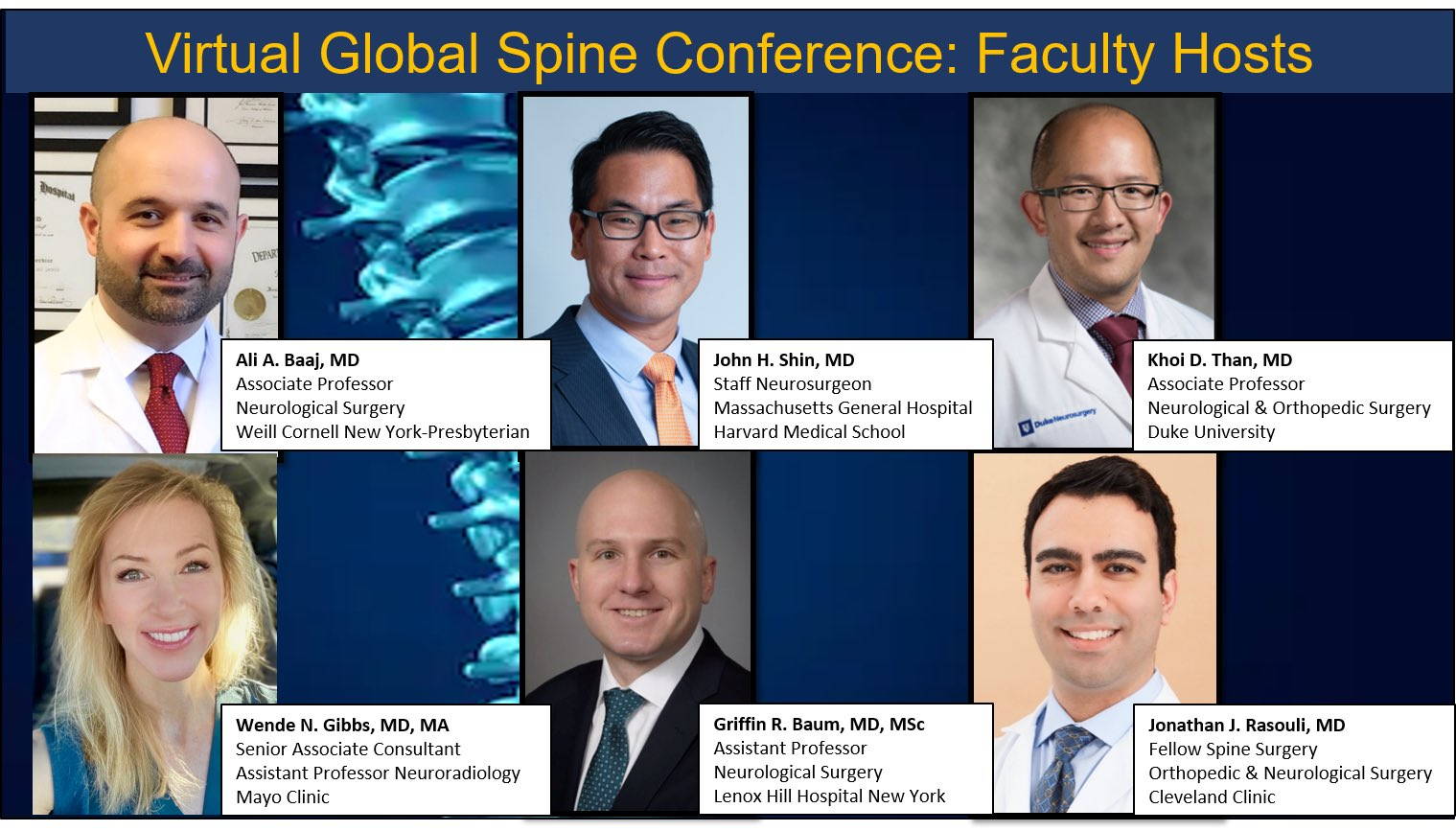 Education in spine care during COVID-19