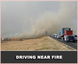Safe Driving near Veld and Forest Fires