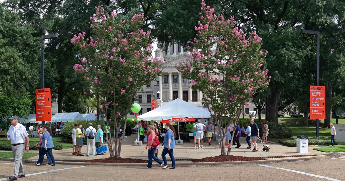 Mississippi Book Festival : A Literary Lawn Party