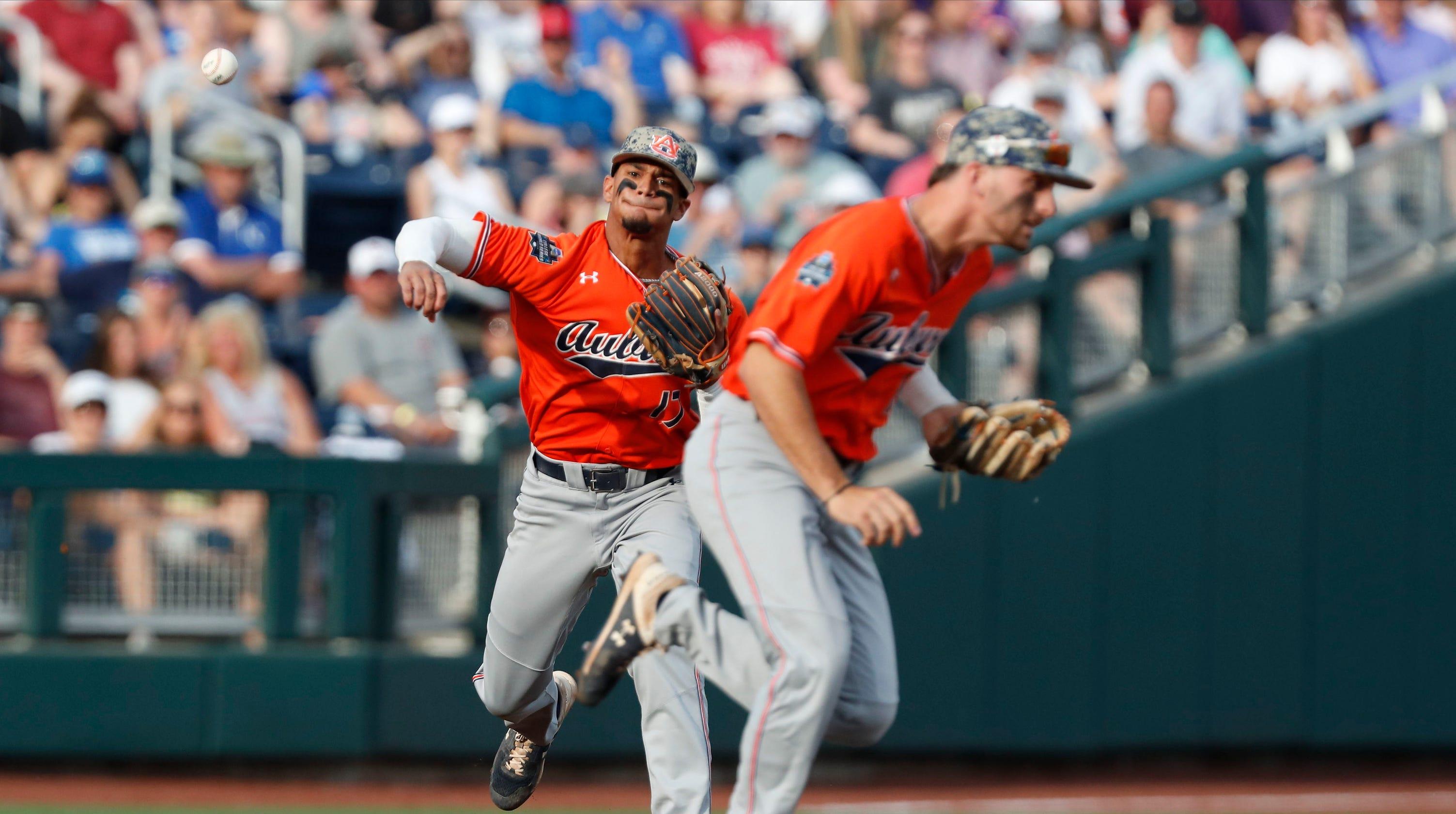 College World Series 2019: Auburn vs. Mississippi State baseball video highlights, score