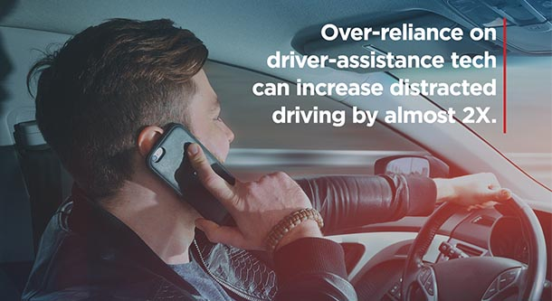 Long-Term Use of Advanced Driver Assistance Technologies Can Result in Disengaged Drivers | AAA NewsRoom