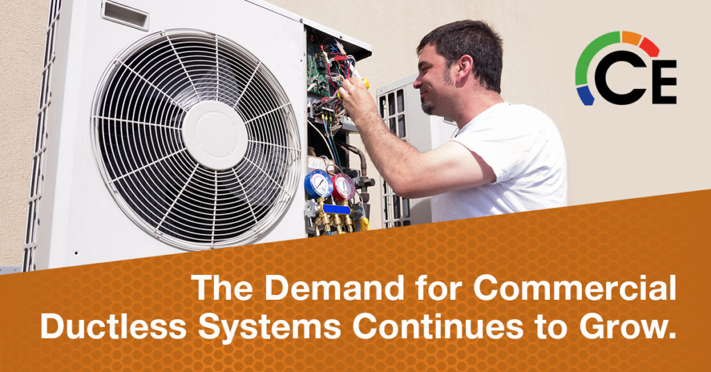 Growth Opportunities for Commercial Ductless Heating & Cooling Systems