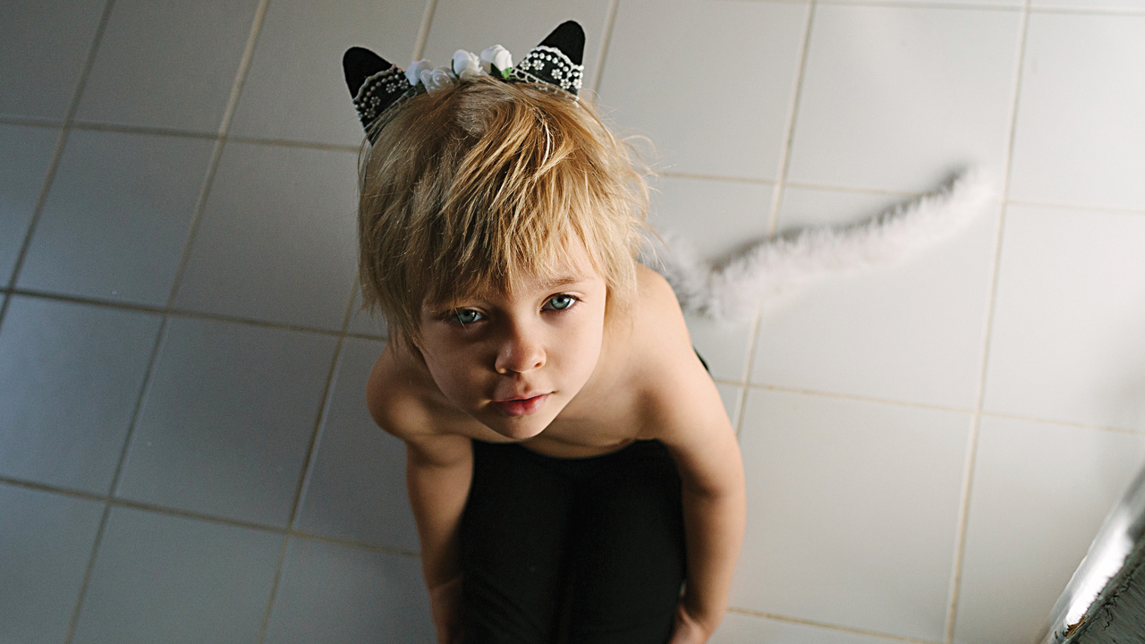 Imaginative or pretend play: Why your kid won't stop acting like a cat
