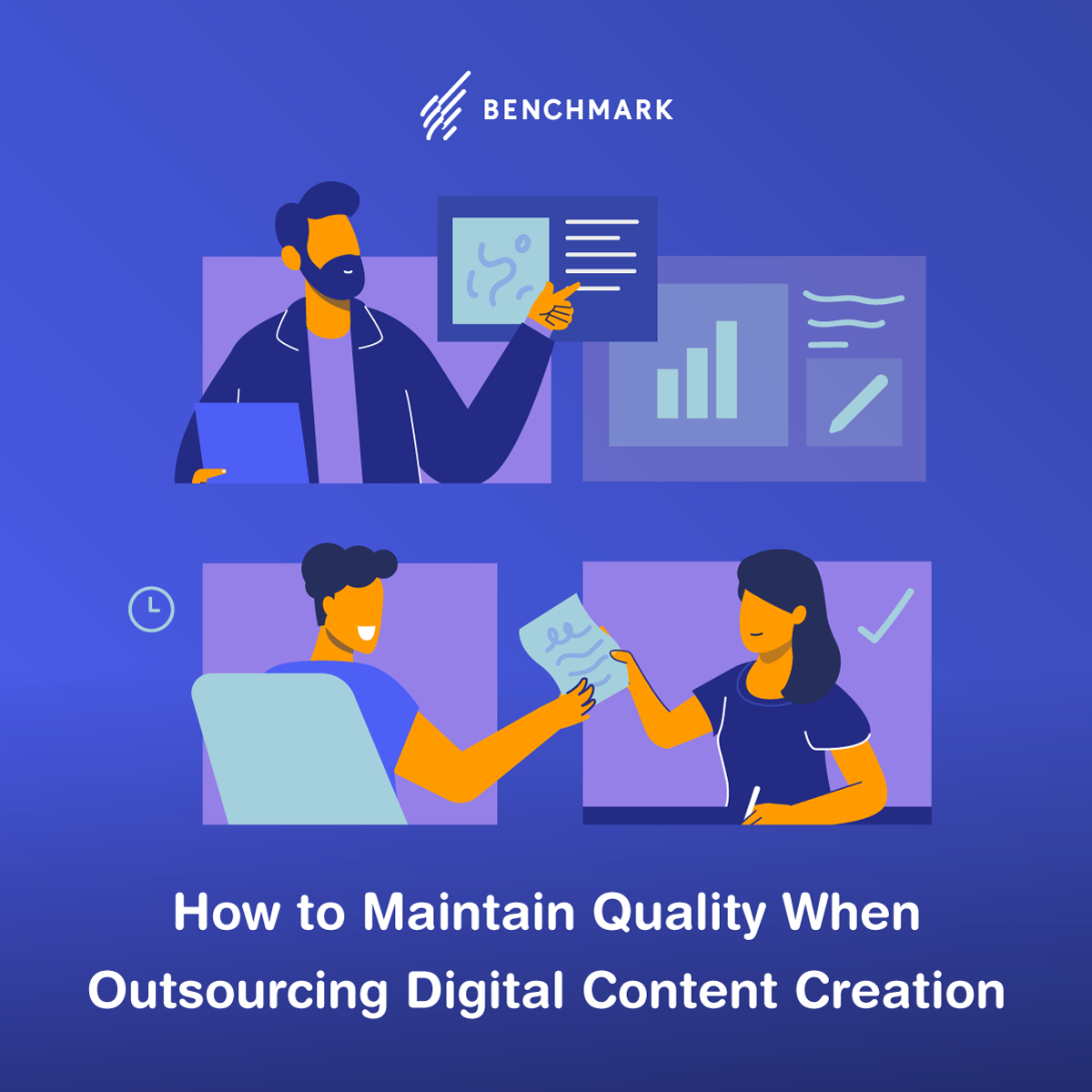 How to Maintain Quality When Outsourcing Digital Content Creation