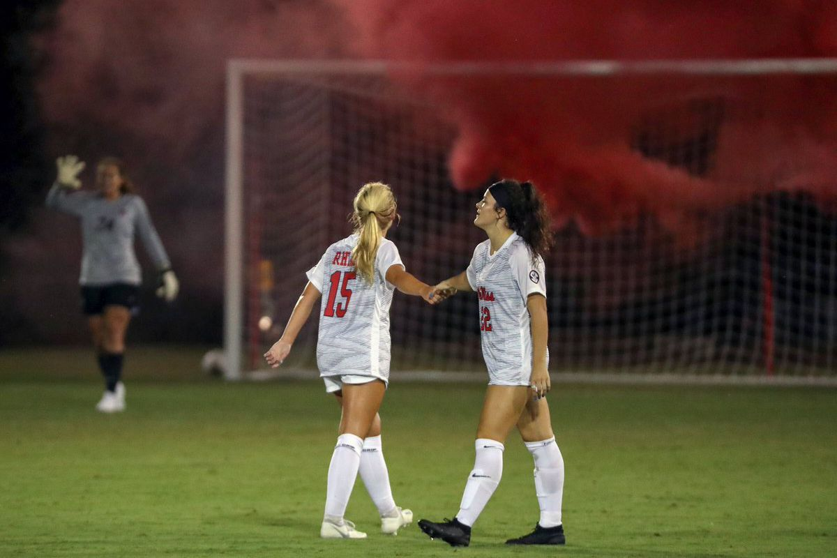 Ole Miss soccer opens season with win over North Alabama