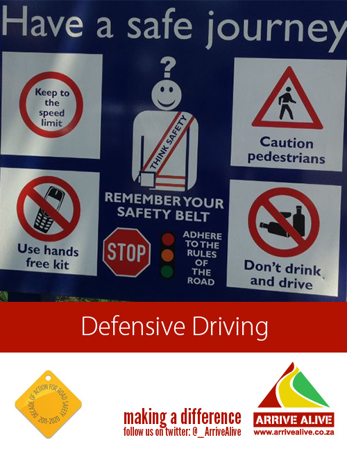 Road safety – ten simple steps for driving safely | Accidents.co.za | Discussion, Prevention, Investigation and Response