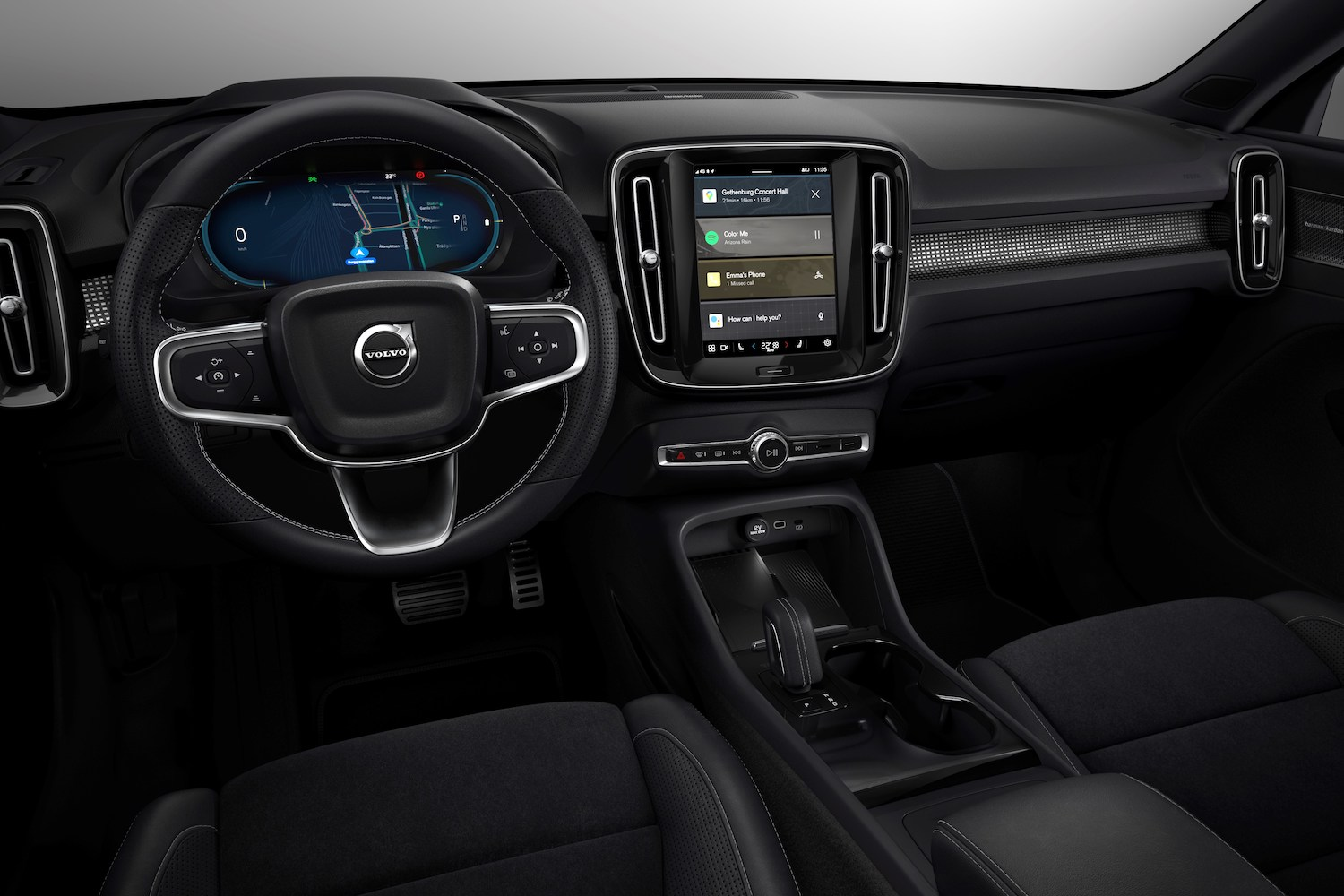 Volvo says tech can help with distracted driving