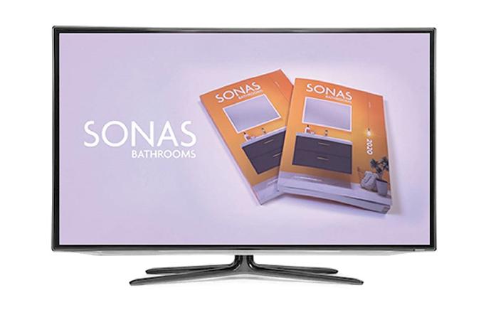 SONAS Bathrooms, on a TV screen near you - Plumbing And Heating Magazine