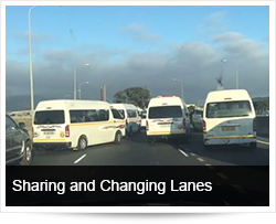 Safe Driving and Sharing and Changing Lanes