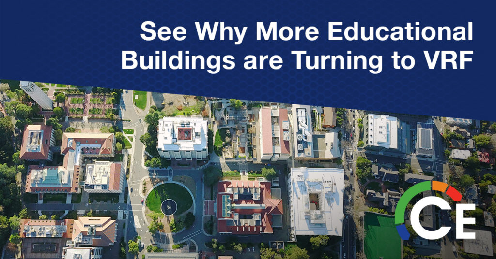VRF Equipment for Educational Buildings: The Sensible Solution