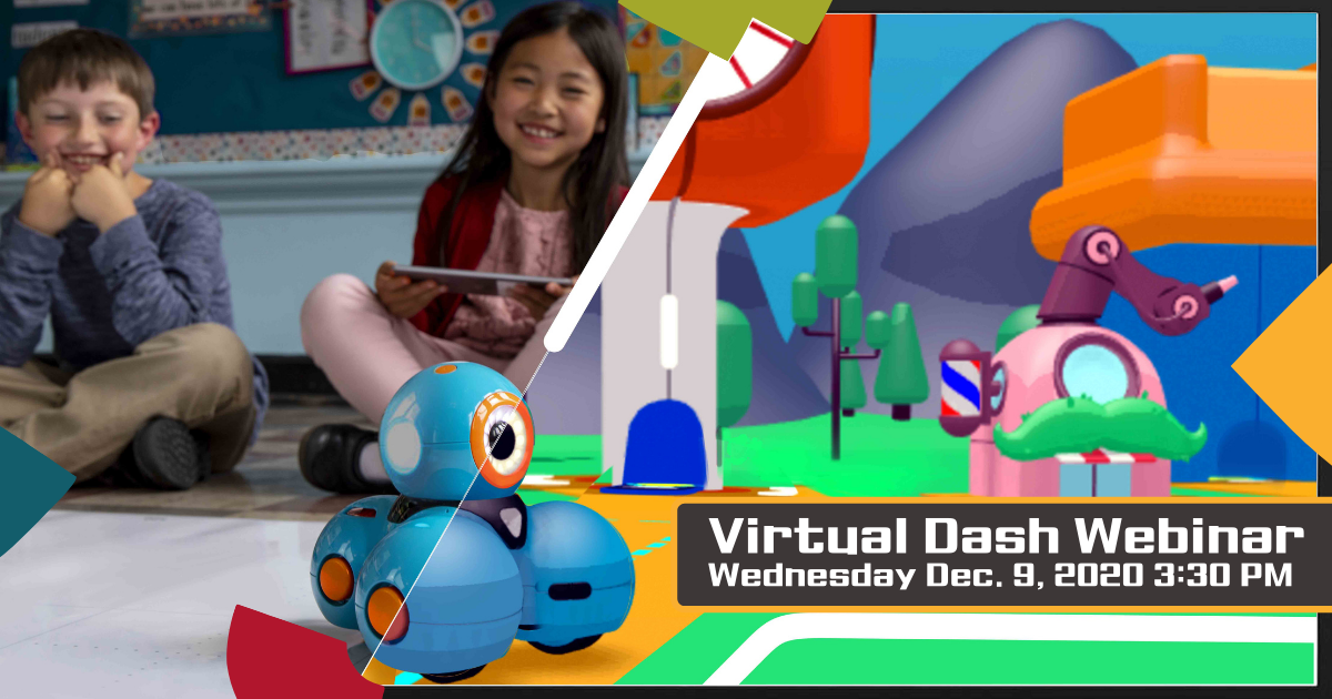 Learn How to Use the Virtual Dash Robot in Remote Coding Education