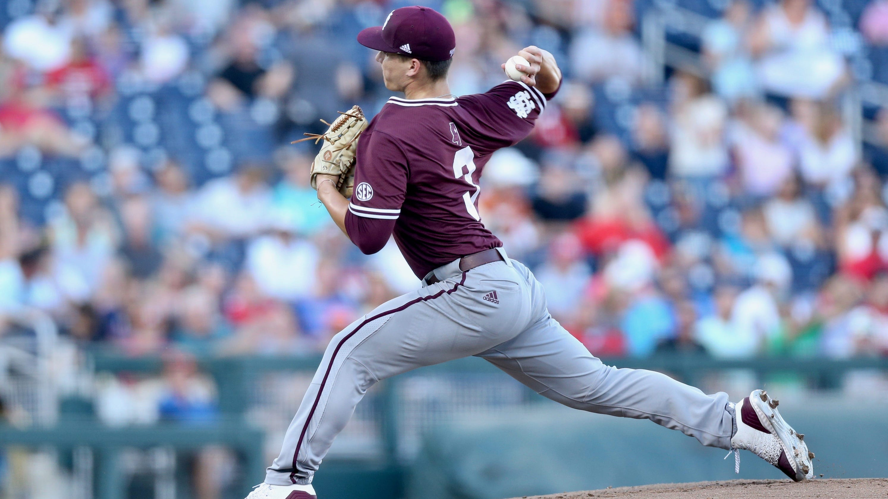 Why JT Ginn's College World Series start gives Mississippi State baseball hope for future