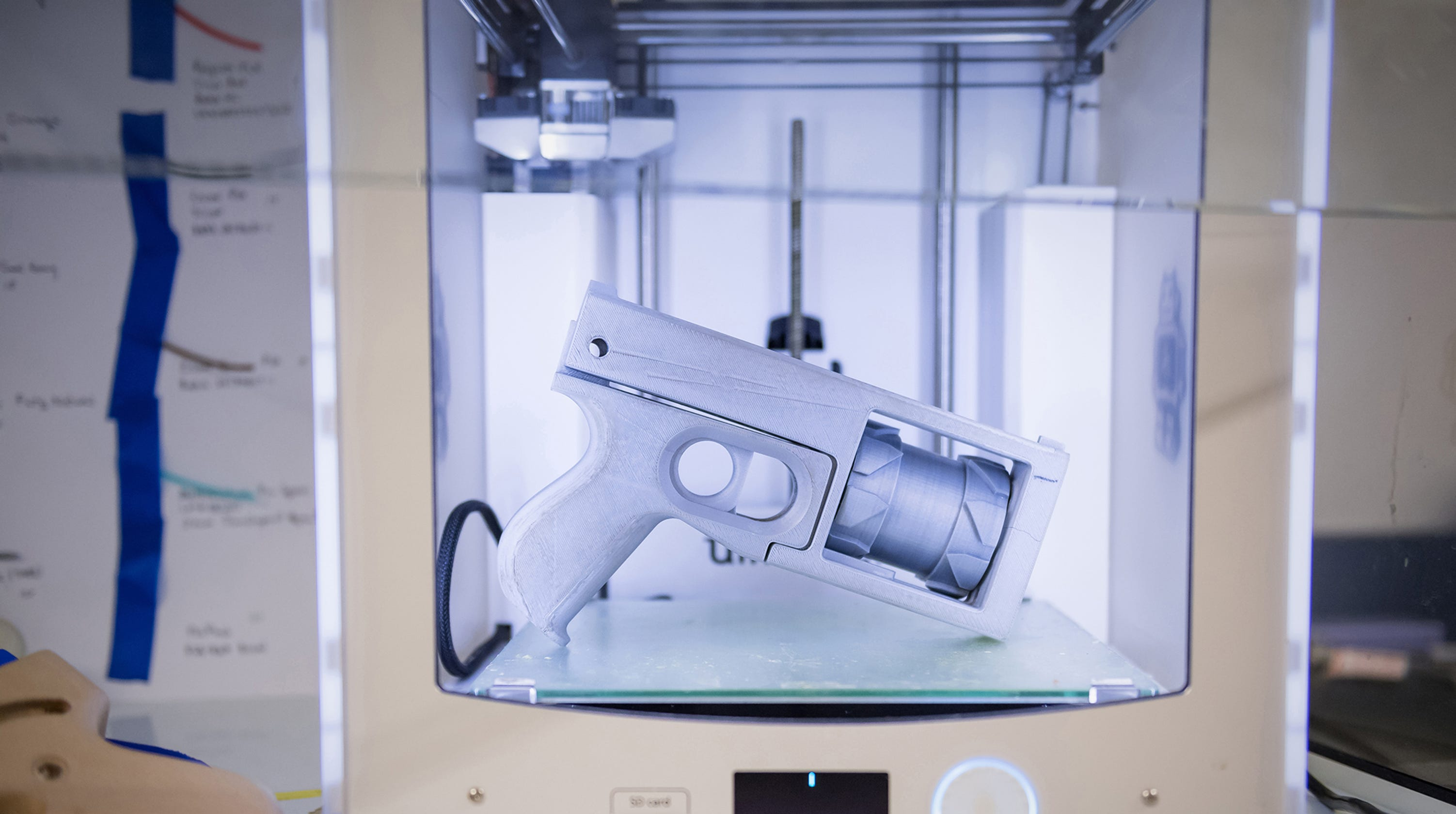 Ole Miss researchers make 3D 'ghost guns' traceable. Here's how it works.