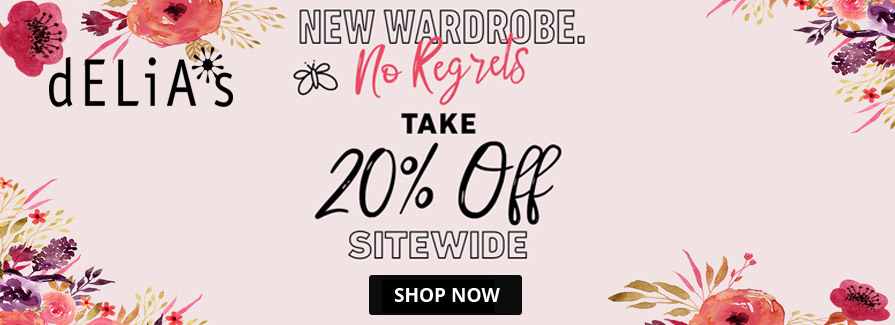 Take 20% off sitewide...!!!