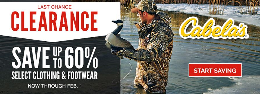 Save up to 60% Off Last chance Clearance