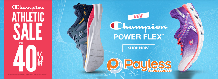 Champion Athletic Sale! Take up to 40% off