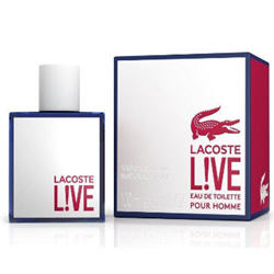 L!VE LACOSTE LIVE men cologne spray