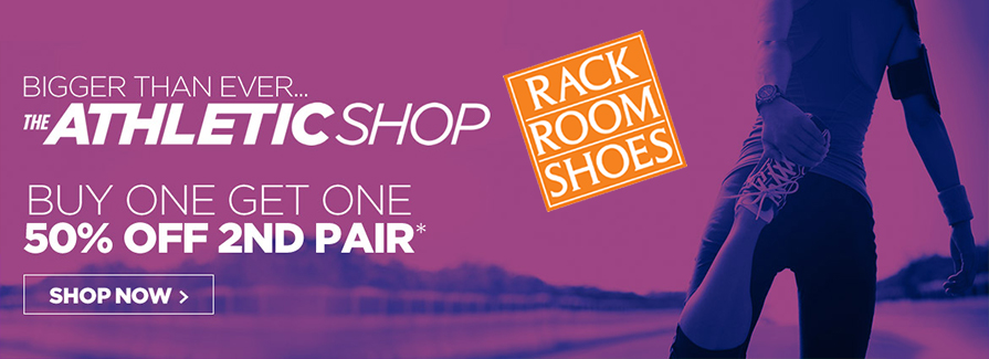The Athletic Shop! Buy One Get One 50% off 2nd Pair...!!!