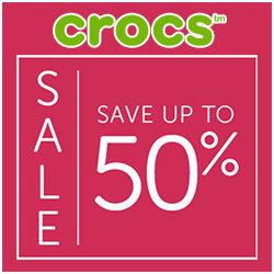 Save up to 50% on styles for women, men and kids..!