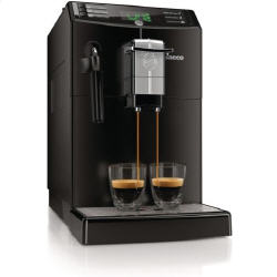 Philips Saeco Minuto Focus Automatic Espresso Machine & Coffee Maker - Black