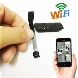 Wireless Spy Nanny Cam WIFI IP Pinhole DIY Digital Video Camera