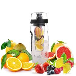 Ivation 32-Oz Fruit Infusing Infuser Water Sports Health Juice Bottle