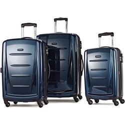 "Samsonite Winfield 2 Fashion Hardside 3 Piece 20"", 24"", 28"" Spinner Luggage Set"