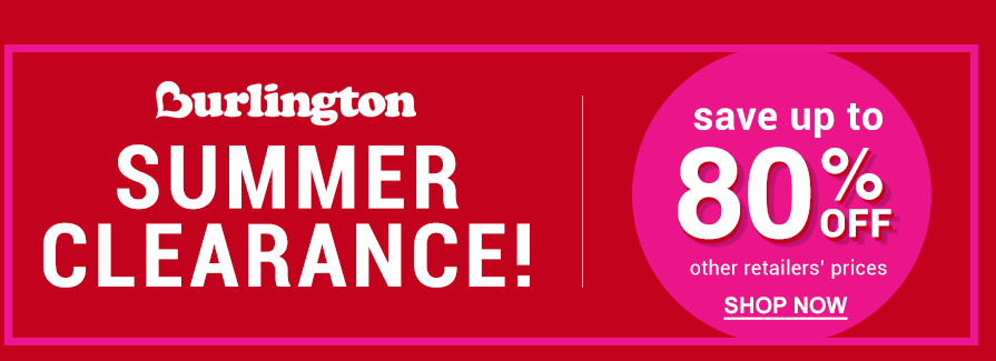 Summer Clearance! Save up to 80% Off
