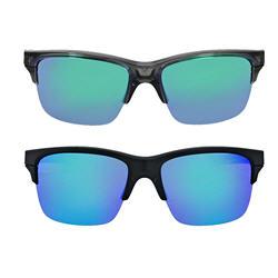 Oakley Thinlink Square Iridium Sunglasses