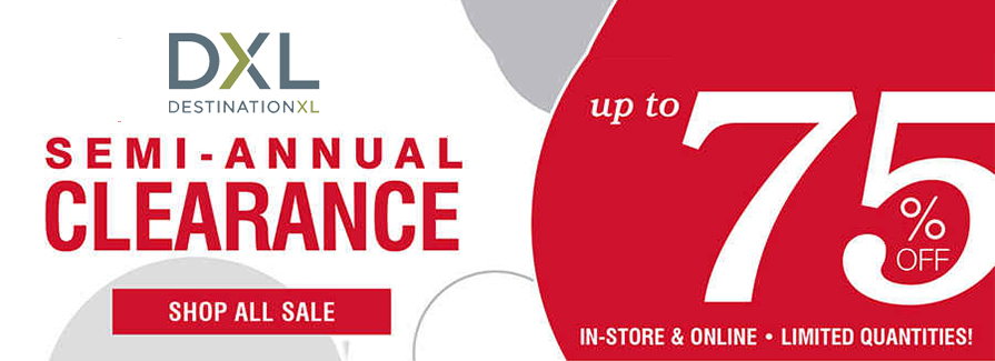 Semi-Annual Clearance! Take up to 75% off