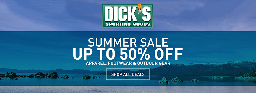 Summer Sale! Take up to 50% off apparel, footwear & outdoor gear..!!