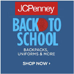 Shop Back To School Deals From JCPenney...!!