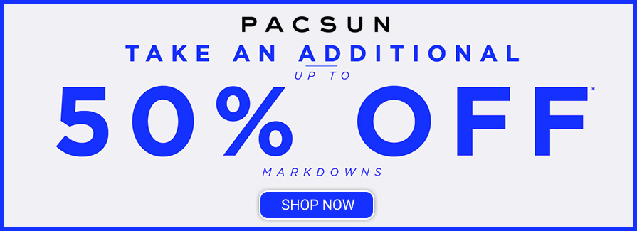 Take an additional up to 50% off markdowns..!!