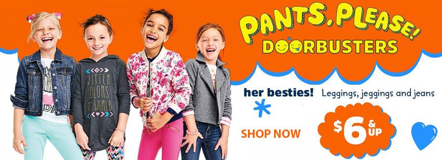 Pants.Please! DOORBUSTERS - $6 & Up