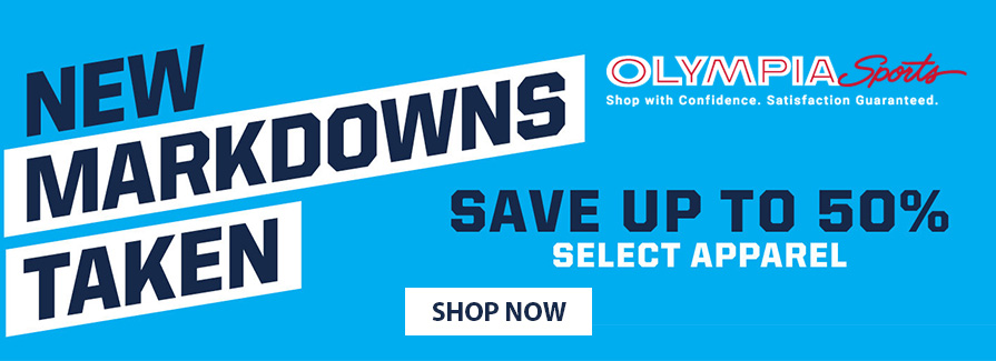 New Markdowns Taken! Save up to 50% select apparel