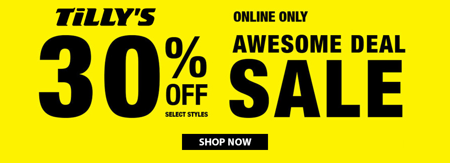 Awesome Deal Sale! Take 30% off select styles..!!