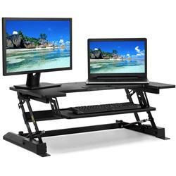 Height Adjustable Standing Desk Monitor Riser
